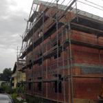 Neubau Mehrfamilienhaus im Rohbau
